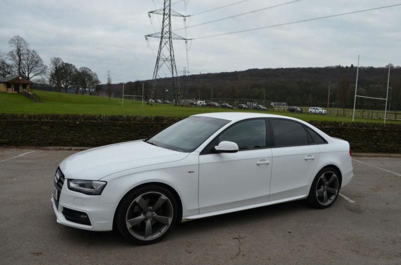 Audi A4 2 0 Tdi Black Edition 2012 White In