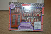 Melissa and Doug Dollhouse Furniture new in box