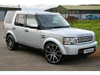 2009 LAND ROVER DISCOVERY 3.0 4 TDV6 GS 5D AUTO 245 BHP DIESEL