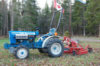 Early 80's FORD Tractor