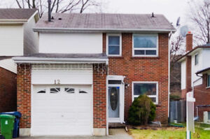 Beautiful, Well-Maintained 3+1 Detached With Basement Apartment!