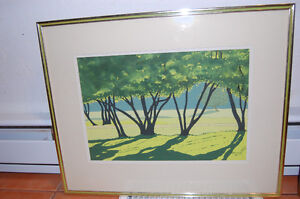 Watercolour and Acrylic Painting Signed Mathieson