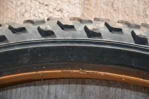 "Pair of used 24"" mountain bike tires with tubes."