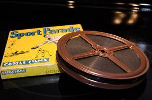 BOBINE DE FILM ANCIEN SPORT PARADE