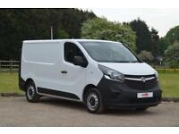 VAUXHALL VIVARO 1.6 CDTI 2700 ECOFLEX L1 Short Wheel Base H1Low Roof BHP
