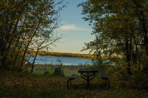 Lake side overnight RV lots available with Kawtikh RV Retreat