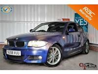 2008 58 BMW 1 SERIES 2.0 120D M SPORT 2D 175 BHP! P/X WELCOME! PHONE BLUETOOTH!