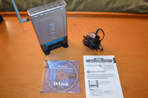 D-Link Air-Plus DI-614+ 2.4GHz Wireless Broadband Router