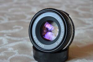 Objectif Nikon 50mm f/1.8 Series E (de-clicked)