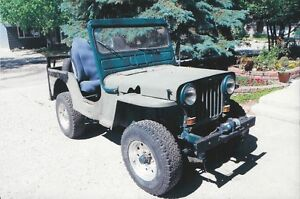 1952 Willys Jeep, Military Jeep