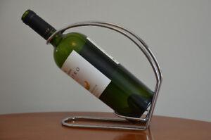 Support / porte bouteille de vin