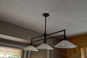 Kitchen Island Pendant Fixtures (3-Lite and 1-Lite)