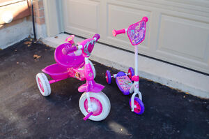 Kid's Tricycle and Scooter