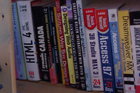 Various Programming and Web Design Books