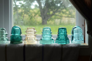 Looking for Glass Insulators
