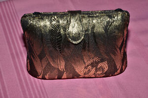 Vintage Gold Brocade Evening Bag - NEW price!