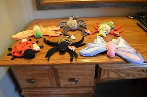 Ty Beanie Babies *Retired & Rare* - Set of 9 Insects Sarnia Sarnia Area image 1