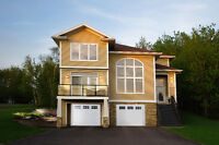 Open concept home in Dieppe over looking Moncton City