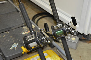 DOWNRIGGER POLES & REELS Kitchener / Waterloo Kitchener Area image 7