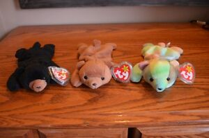 Ty Beanie Babies *Retired & Rare* - Set of 9 Bears I