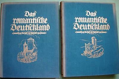 2 Bände Das romantische Deutschland 1927 Lichtdrucke
