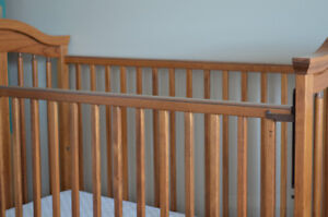 Crib + changing table for Sale