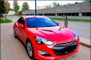 2016 Genesis Coupe 3.8 Premium Package with Winter Tires