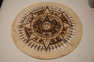 Mexican Amate Wall Hanging