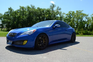 2010 Hyundai Genesis Coupe 3.8 Coupe - HIGHWAY DRIVEN