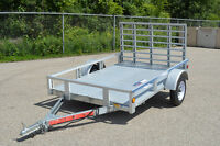 """5X7""""3 Galvanized Sterling Trailers! Overstock!!!Great Value!!!"""