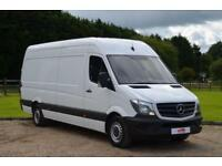 2014 14 MERCEDES-BENZ SPRINTER 313 CDI EURO 5 LONG WHEEL BASE LWB 130 BHP PANEL