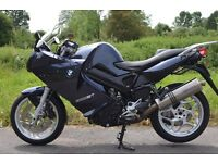Very low mileage BMW F800 ST fully loaded