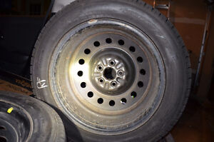 Winter Tires on Rims Toyo Observe GERIT KX Kitchener / Waterloo Kitchener Area image 2