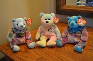 Ty Beanie Babies *Retired & Rare* - Set of 3 Birthday Beanies Sarnia Sarnia Area image 1