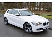 2013 13 BMW 1 SERIES 2.0 118D SPORT 3D 141 BHP DIESEL
