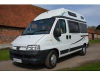 2004 2-berth, low mileage, Auto Sleeper SYMBOL camper van for sale