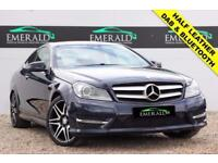2013 63 MERCEDES-BENZ C CLASS 2.1 C250 CDI BLUEEFFICIENCY AMG SPORT PLUS 2D AUTO