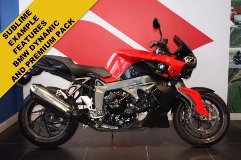 2012 62 BMW K1300R RED/BLACK , GPR EXHAUST,