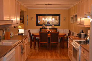 Beautifully furnished condo for rent in downtown Fredericton