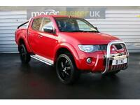 2010 Mitsubishi L200 Double Cab DI D Warrior II 4WD 134Bhp Over 4000 dealer ...