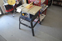 RYOBI  10 Inch Table Saw, Stand