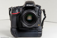 Nikon D7000 Battery Grip Pack+2Loaders charger New 100 %