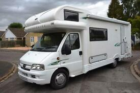 2004 4 Berth Autocruise Gleneagle Motorhome For Sale