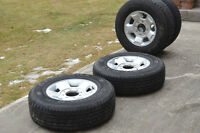 New Ford rims with General 10 ply HTS LT245-75-17 Tires @ 98%