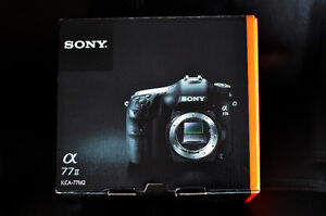 Sony A 77 Mark ii Body in Box with 4 Top lens all 2.8