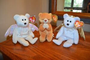 Ty Beanie Babies *Retired & Rare* - Set of 3 Religious Bears
