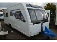 2019 - Lunar Delta TS - 4 Berth - Fixed Single Beds - Touring Caravan