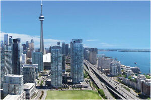 Live next to The Rogers Centre! 1 bedroom w/parking Downtown!!