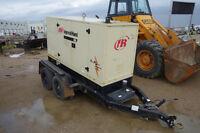 Ingersoll Rand G80 Portable Generator c/w JD 4 Cyl Diesel, 81KVA