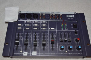 amx sx-100 stereo mixer with digital echo &tone control